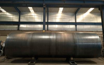 Depósito de Inercia de 40.000 litros