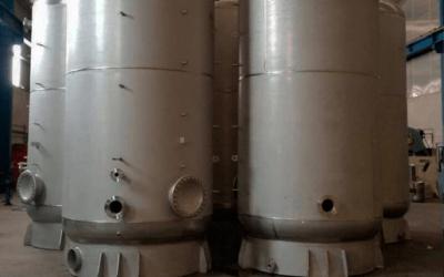 Depósitos de ACS en INOX 316L