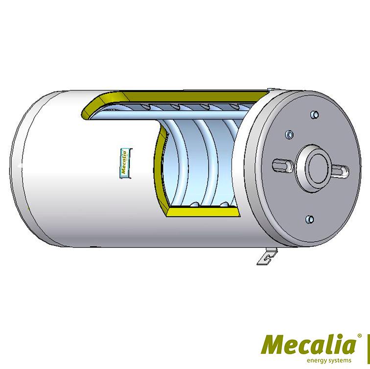 INTERACUMULADOR INOX 316 DOBLE CAMARA TERMOSIFON