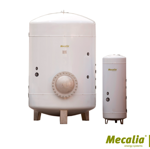 INTERACUMULADOR INOX 316 SERPENTÍN ESPIRAL ENERGÍA SOLAR